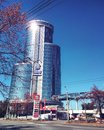 Chelyabinsk city architecture to host shanghai cooperation organisation administration building infrastracture deligation from Stock Photo
