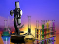 Chemical devices Stock Photography