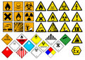 Chemical symbols Stock Photos