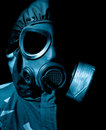 Chemical warfare Royalty Free Stock Photography