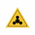 The chemical weapon sign vector design
