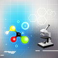 Chemistry background Royalty Free Stock Photo