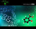 Chemistry background medical health care illustration science wallpaper Stock Image