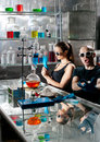Chemistry laboratory Stock Photos