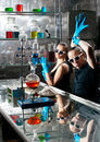 Chemistry laboratory Royalty Free Stock Images