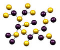 Chemistry Molecules Stock Image