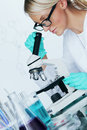 Chemistry Scientist Stock Image