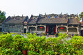 Chen clan temple the photo was taken in guangzhou city guangdong province china original said academy Stock Image