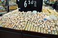 Chengdu, China: Egg Display at Walmart Supermarket Stock Photography
