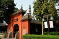 Chengdu, China: Wenshu Temple Gateway Stock Photography