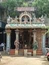Chennai temple hindu art work ancient artwork photo Royalty Free Stock Photo