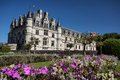 Chenonceau castle in loire valley france Royalty Free Stock Image