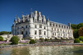 Chenonceau castle in loire valley france Stock Images