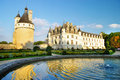 Chenonseau castle - Loire valley Stock Image