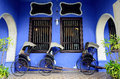 Cheong fatt tze mansion penang malaysia december exterior view of Royalty Free Stock Image