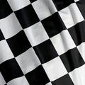 Chequered Flag Closeup Royalty Free Stock Photography