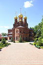 Chernigovsky skit part of the holy trinity sergius lavra in sergiev posad Stock Photography