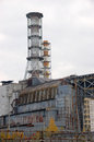 Chernobyl nuclear power plant reactor ukraine Royalty Free Stock Photo