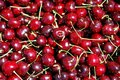 Cherries texture Stock Photography