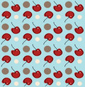 Cherry Background Royalty Free Stock Photography
