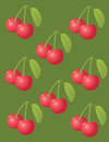 Cherry background. fruit icon Royalty Free Stock Photography
