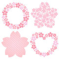 Cherry blossom decoration Royalty Free Stock Photo
