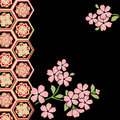 Cherry blossom festival vector images of japanese Stock Images