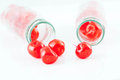 Cherry compote. Royalty Free Stock Photos