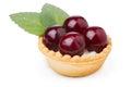 Cherry dessert Royalty Free Stock Photo