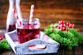 Cherry drink Royalty Free Stock Photo