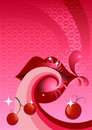 Cherry Flavour Lips Stock Photography