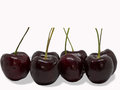 Cherry fruit .clipping path