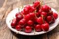 Cherry fruit Royalty Free Stock Photo