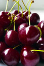Cherry fruit close up Royalty Free Stock Photo