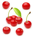 Cherry isolated Royalty Free Stock Photo