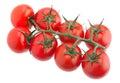 Cherry tomato bunch vegetable Royalty Free Stock Photo