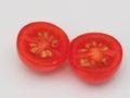 Cherry Tomato Cut In Half