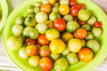 Cherry tomato for sale at local Thai market Royalty Free Stock Photo