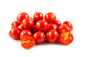 Cherry tomatoes.  fresh tomatoes on white background. red tomato Royalty Free Stock Images