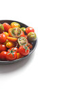 Cherry tomatoes variety delicious of healthy Stock Photography