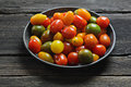Cherry tomatoes variety delicious of healthy Stock Image
