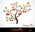 Cherry tree Stock Images