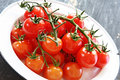 Cherry Truss Tomatoes Royalty Free Stock Photo