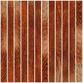 Cherry wood floor planks on white for wooden interior finishing Royalty Free Stock Photos