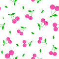 Cherrycartoon seamless pattern