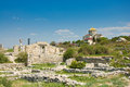 Chersonesus near Sevastopol in Crimea, Ukraine Royalty Free Stock Images