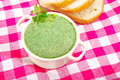 Chervil soup Royalty Free Stock Photo