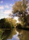 Cherwell River Oxford England Royalty Free Stock Photos