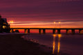 Chesapeake Bay Sunset Royalty Free Stock Photo
