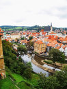 Chesky krumlov nice view of Royalty Free Stock Photography